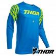 Maglia Cross Thor PRIME PRO STRUT - Blu Elettrico Giallo Acido
