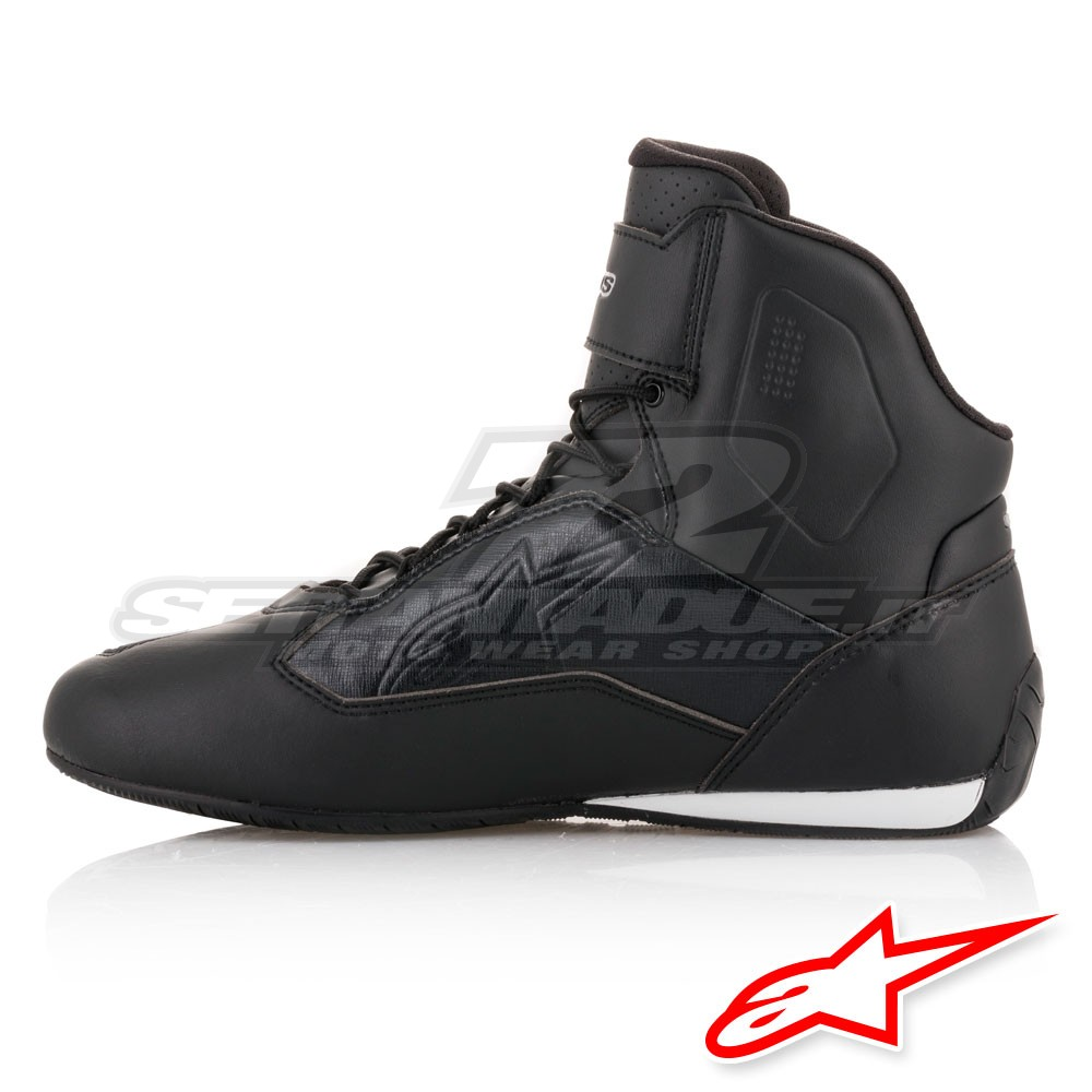 49c0953de675e4 Alpinestars STELLA FASTER-3 Women s Riding Shoes - Black Silver ...