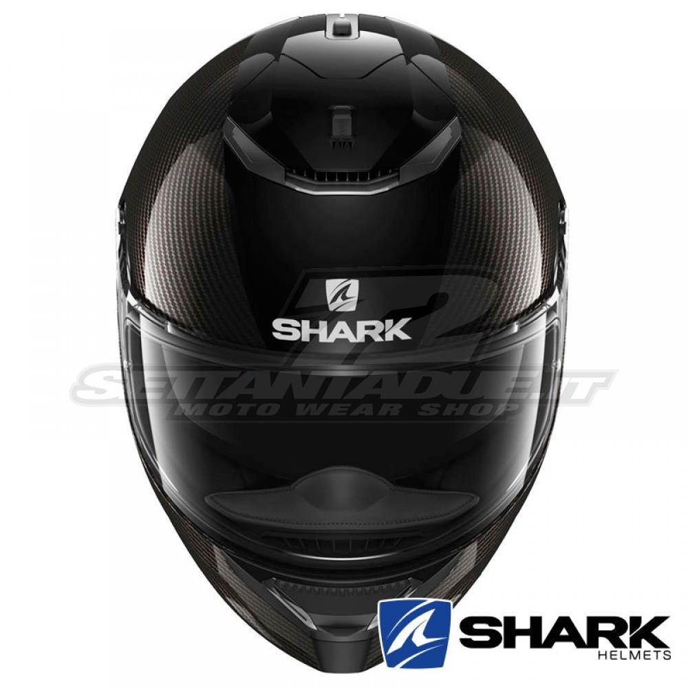 shark spartan carbon full face helmet carbon skin. Black Bedroom Furniture Sets. Home Design Ideas