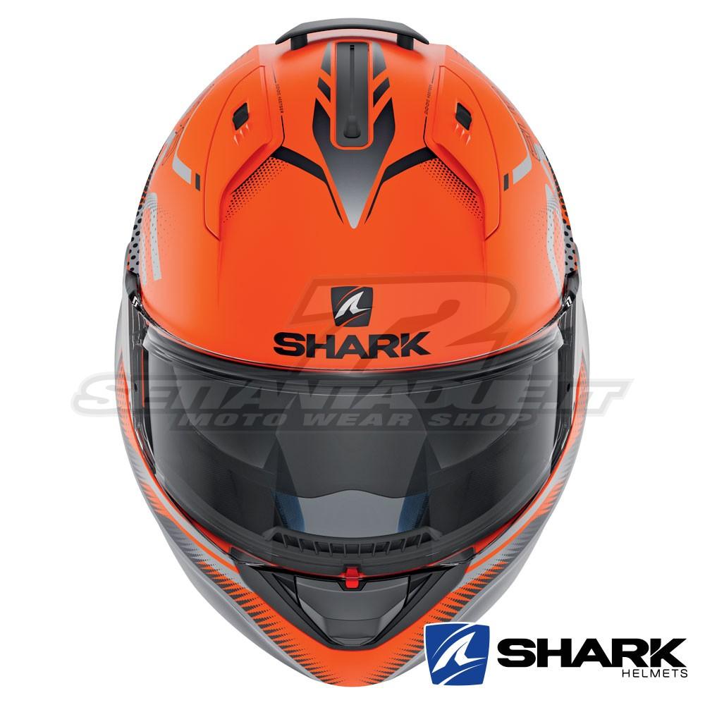 Motorcycle helmets EVO-ONE 2 KEENSER MAT OKA Shark