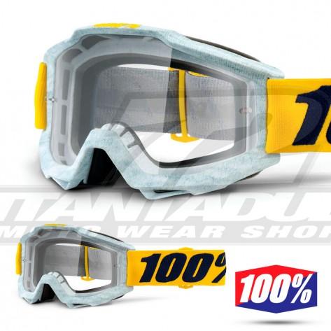 100% Maschera THE ACCURI Zest - Lente Trasparente