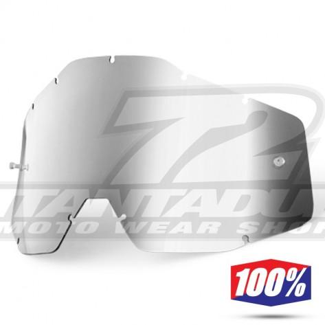 100% Lente Maschere - Argento Specchio