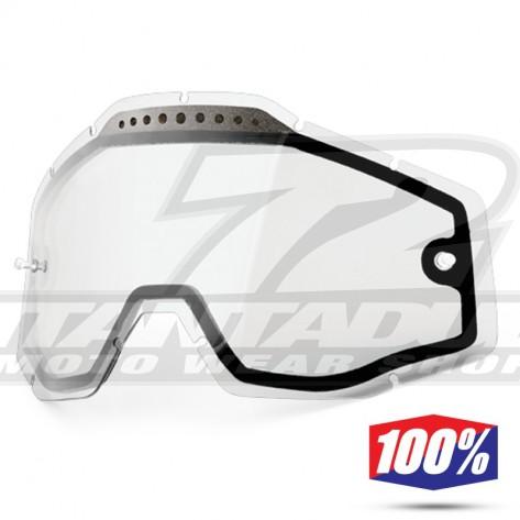 100% Lente Maschere - Doppia Trasparente