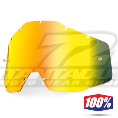 100% Lente Maschere Youth - Oro Specchio