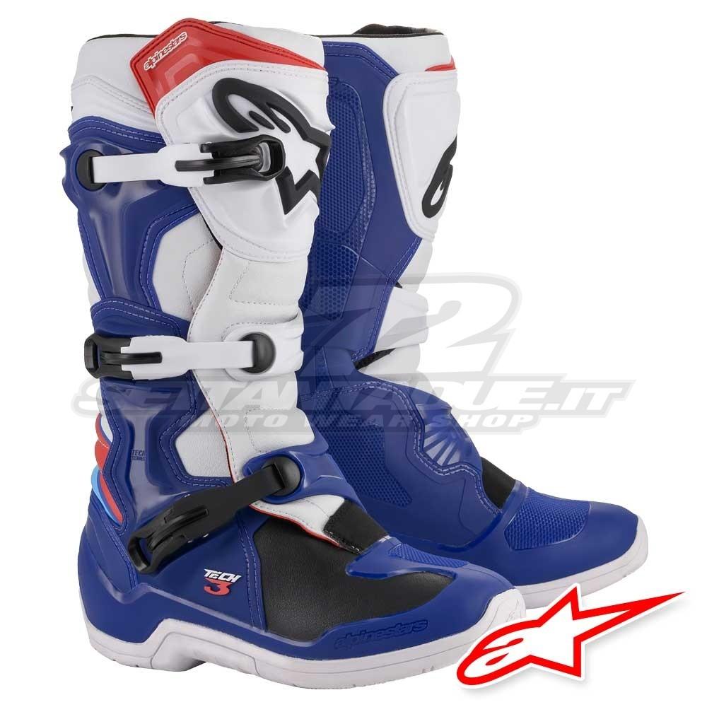 Alpinestars TECH 3 MX Boots - Blue