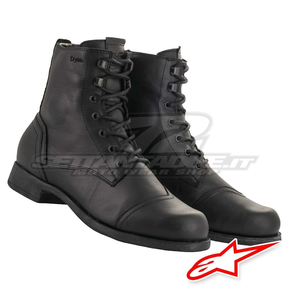 Boots for Motorcycle Street Riding Alpinestars Distinct Drystar Riding Shoes