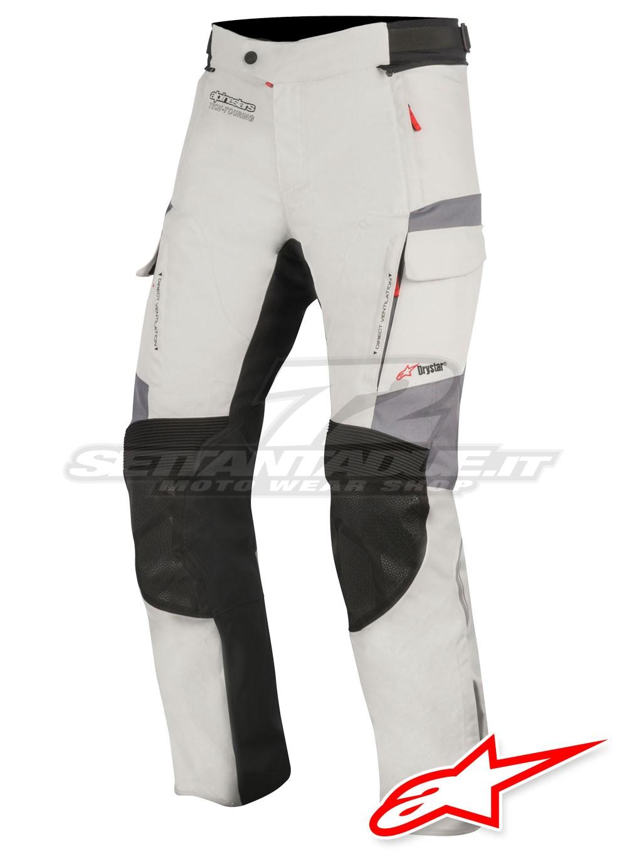 bd724b45 Alpinestars ANDES V2 DRYSTAR Pants - Light Grey Black Dark Grey ...