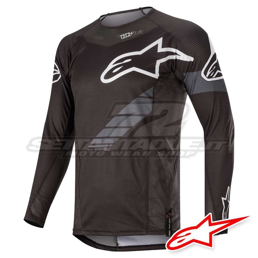 Maglia Alpinestars Racer Graphite MX