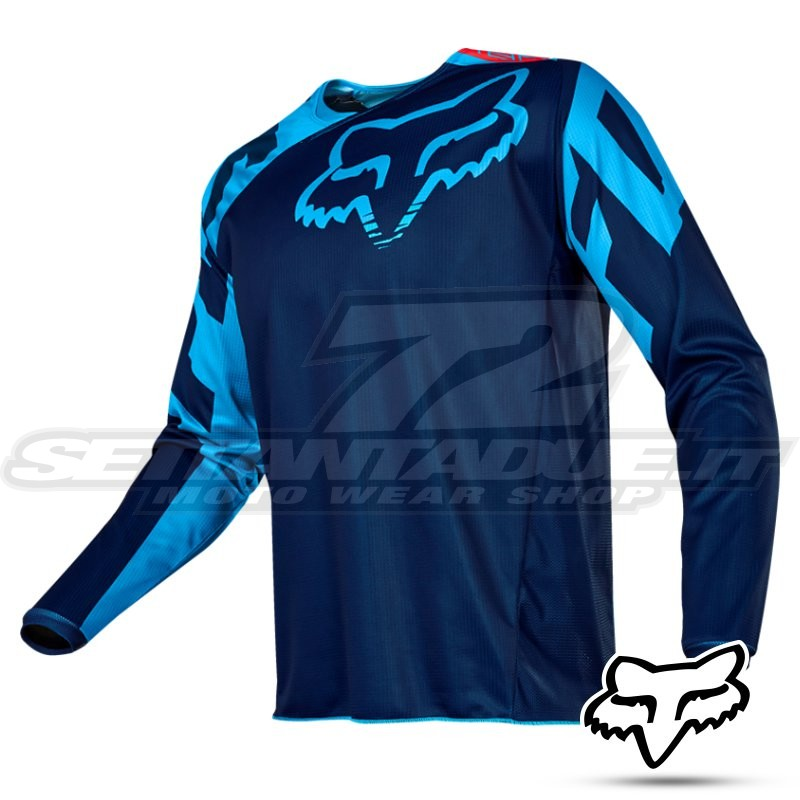 1e0d5502971 Fox Racing 180 RACE 2017 MX Jersey - Navy | SETTANTADUE.IT