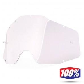 100% Lente Maschere - Trasparente