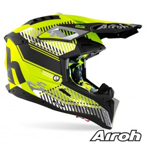 Airoh AVIATOR 3 Wave Helmet - Yellow Matt
