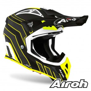 Airoh AVIATOR ACE Art Helmet - Black Matt