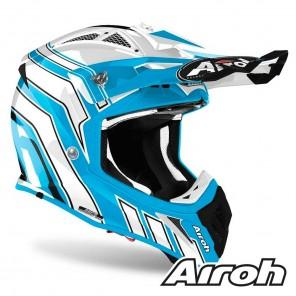 Airoh AVIATOR ACE Art Helmet - Azure