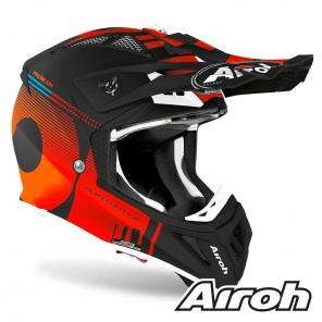 Airoh AVIATOR ACE Nemesi Helmet - Orange Matt