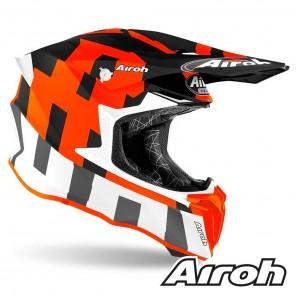 Airoh TWIST 2.0 Frame Helmet - Orange Matt