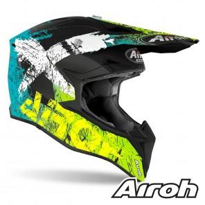 Airoh WRAAP Smile Helmet - Yellow Matt