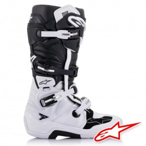 Alpinestars TECH 7 Boots - White Black