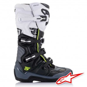 Alpinestars TECH 5 Boots - Black Dark Grey White