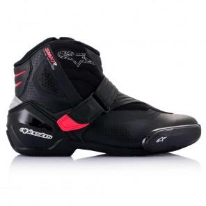 Alpinestars STELLA SMX-1 R V2 VENTED Boots - Black Diva Pink