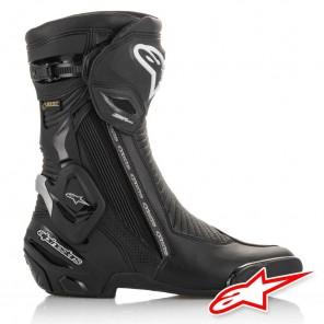 Alpinestars SMX PLUS V2 GORE-TEX Boots - Black Silver