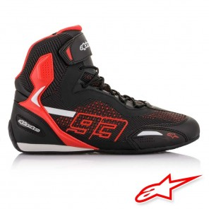 Alpinestars MM93 AUSTIN KNITTED Riding Shoes - Black Red White