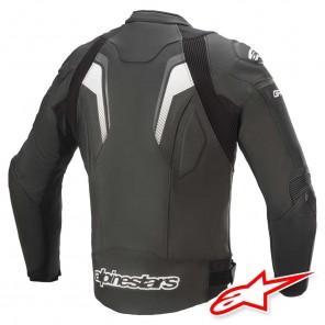 Alpinestars GP PLUS R V3 Leather Jacket - Black Dark Grey White