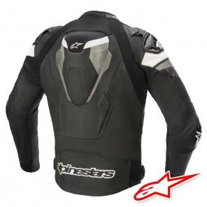 Alpinestars ATEM V4 Leather Jacket - Black Grey White