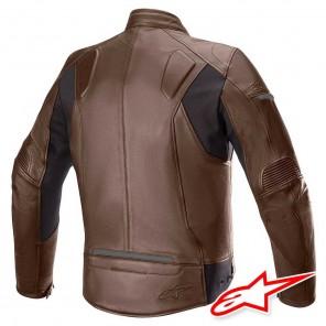 Alpinestars SP-55 Leather Jacket - Tobacco Brown