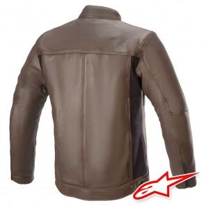 Alpinestars TOPANGA Leather Jacket - Brown