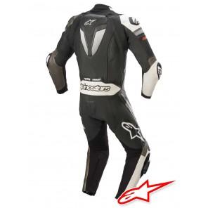Alpinestars GP PLUS V3 Leather Suit - Black White Metallic Grey