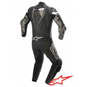 Alpinestars ATEM V4 Leather Suit - Black Grey White
