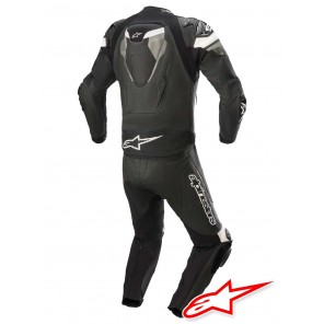 Alpinestars ATEM V4 2pc Leather Suit - Black Grey White