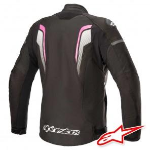 Alpinestars STELLA T-GP PLUR R V3 Jacket - Black White Fuchsia