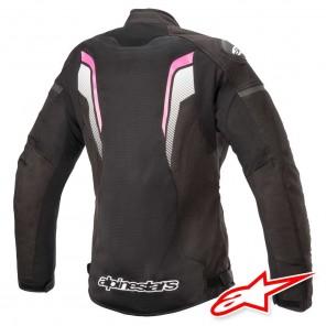 Alpinestars STELLA T-GP PLUS R V3 AIR Jacket - Black White Fuchsia