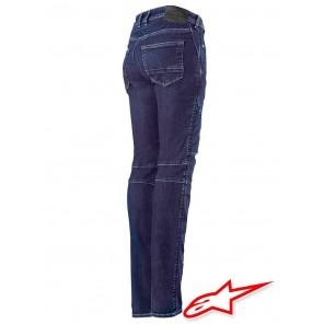 Alpinestars STELLA CALLIE Denim Pants - Rinse Blue