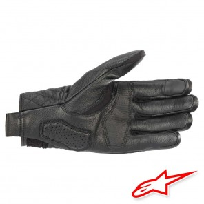Alpinestars BRASS Leather Gloves - Black