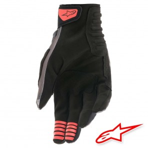 Alpinestars SMX-E Gloves - Grey Camo Red Fluo