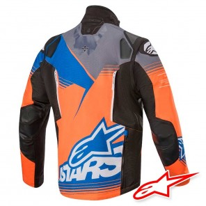 Alpinestars VENTURE R Jacket - Orange Grey Blue