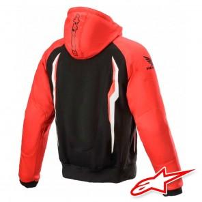 Alpinestars HONDA CHROME SPORT Hoodie - Red Black
