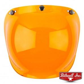 Biltwell BUBBLE Anti-Fog Shield - Amber