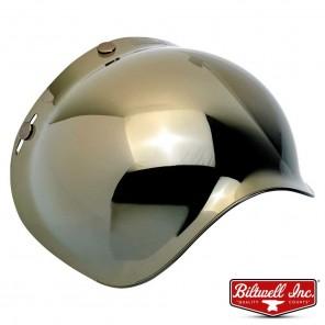 Biltwell BUBBLE Anti-Fog Shield - Gold Mirror
