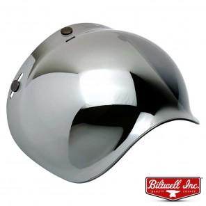 Biltwell BUBBLE Anti-Fog Shield - Chrome Mirror