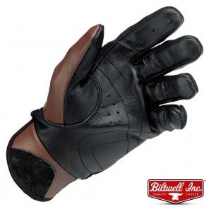 Biltwell BANTAM Gloves - Chocolate Black
