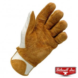 Biltwell BANTAM Gloves - White Tan