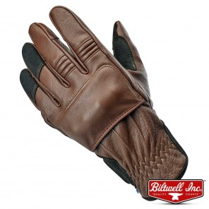 Biltwell BELDEN Gloves - Chocolate Black