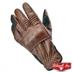 Biltwell BORREGO Gloves - Chocolate Black