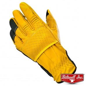 Biltwell BORREGO Gloves - Gold Black