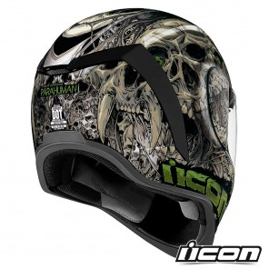 Icon AIRFORM Parahuman Helmet - Black