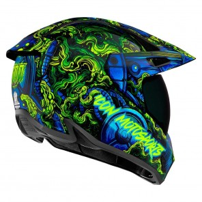 Icon VARIANT PRO Willy Pete Helmet - Blue