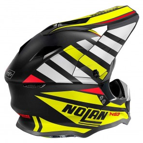 Nolan N53 Cliffjumper 75 Helmet - Flat Black Yellow White
